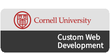 Custom Web Development, Your Cornell Web Partner